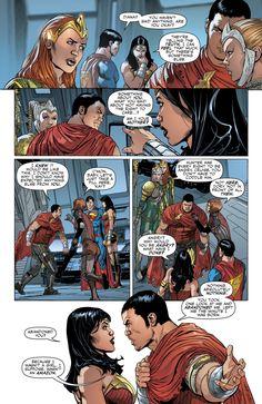 Wonder Woman's Future Son Hunter Prince Star Comics, Dc Comics Superheroes, Marvel Dc Comics, Marvel Vs, Mera Dc Comics, Dc Comics Art, Superhero Facts, Superhero Characters, Dr Fate