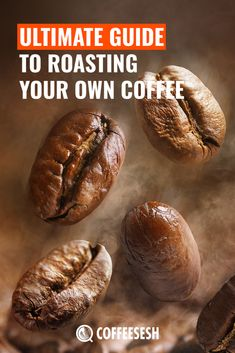 Roasting your own coffee is a satisfying experience which gives us a better-tasting coffee. Read this Ultimate Guide to Roasting Your Own Coffee. Coffee Iv, Coffee Zone, Coffee Snobs, Coffee Drinks, Coffee Maker, Roasting Coffee At Home, Italian Roast Coffee, Colombian Coffee, Coffee Infographic