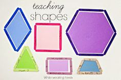 While Wearing Heels: Teaching Shapes Waldorf Math, Teaching Shapes, Rainy Day Activities, Creative Home, First Grade, Kids Playing, Middle School, Education, Learning
