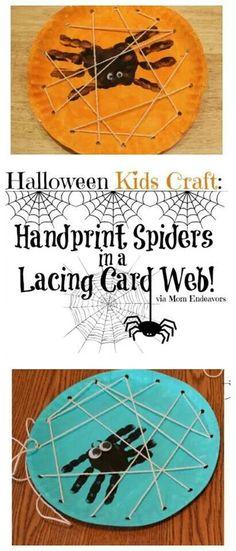 Halloween- Spiderweb plates