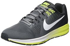 newest beaff 7bb09 NIKE- Air Zoom Structure 21 Running Shoes Cool Gray White... https