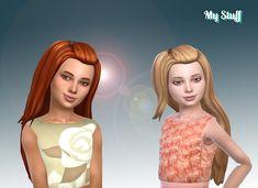 Mystufforigin: Melanie Hair retextured - Sims 4 Hairs - http://sims4hairs.com/mystufforigin-melanie-hair-retextured-2/