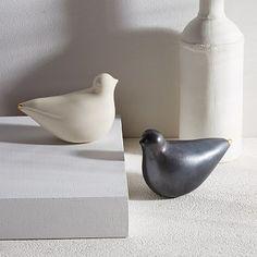 Honeycomb Studio Porcelain Turtle Doves #westelm