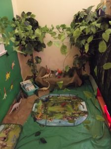 Dinosaurs - role play area