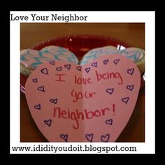 I Did It - You Do It: Love Your Neighbor