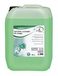 Solutie ecologica profesionala Tana Green Care No 2 cu otet pentru eliminarea rapida a depunerilor de calcar si a petelor de apa si sapun.