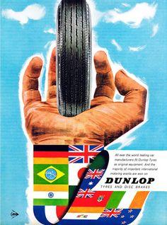 Dunlop Tyres 1964