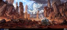 ArtStation - Novus Eden - Dead Desert. , Jude Smith