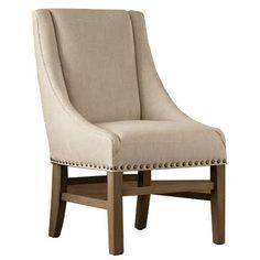 Valerie Lounge Chair - Ecru - French Provincial Furniture