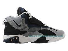 new concept e9d46 788fb Chaussures Nike BasketBall Pour Femme Nike Air Speed Turf GS Gris Bleu  535735-003. Officiel Nike Air Max 90 ...