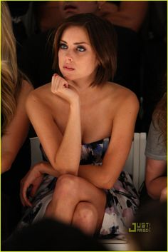 Jessica Stroup Living in Edie Sedgwick Phase