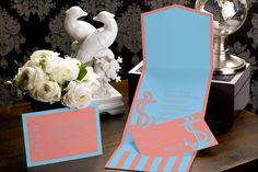 Love's Anchor - Pocket Wedding Invitation by MagnetStreet