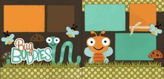 Bug Buddies Boy Page Kit