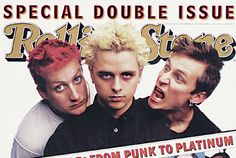 Rolling Stone 1995 issue with Green Day