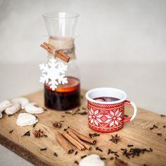 RED CHRISTMAS MUG - Emalco Enamelware