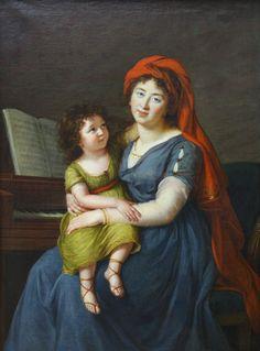 The Athenaeum - The portrait of princess Ekaterina Nikolaevna Menshikova (Élisabeth Vigée-Lebrun - )