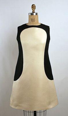 Dress  Date: ca. 1969 Culture: French Medium: silk