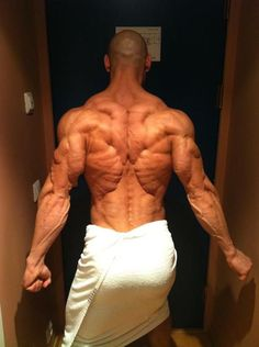 Real ripped #back #muscles