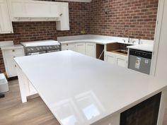 Aspen De Lusso- Sutton Coldfield, Birmingham - Rock and Co Granite Ltd Sutton Coldfield, Marble Quartz, All White Kitchen, Aspen, Birmingham, Granite, Home Decor, Decoration Home, Room Decor