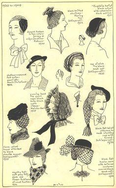 http://www.villagehatshop.com/content/72/gallery-chapter-22.html 1930-1940