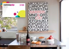 $100 CanvasPop Gift Voucher for only $50!