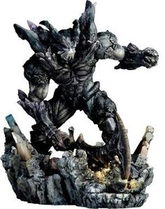 """Final Fantasy XI: Shadow Lord Sculpture Arts Statue by Square-Enix. $219.13. This fully-colored, polyresin statue stands 9 1/2"""" tall.. Manufacturer: Square-Enix. UPC: 662248808208. Imported from Japan! One of the final bosses from Final Fantasy XI has now been recreated as a fully-detailed polyresin statue! This sculpture captures the moment the Shadow Lord smashes his massive axe into the ground below, crushing all in its path. This fully-colored, polyresin s..."""