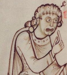 You talkin' to me? [Bodleian, MS. Auct. F. 2.13, 12th c.]pic.twitter.com/xWxNfUIvZC