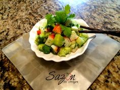 Ensalada de surimi | Mi Sazón