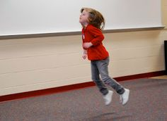 'Run' Rhymes With 'Fun'!  -- A Movement Exploration Activity that Addresses Early Language and Literacy