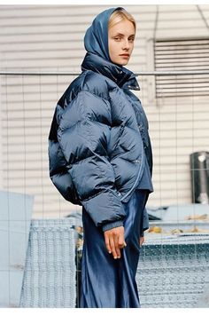Home - The official online store Metallic Blue, Blues, Raincoat, Winter Jackets, Stylish, Instagram Posts, Collection, Fashion, Rain Jacket