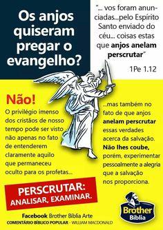 Curiosidade Bíblica: Os anjos queriam pregar o Evangelho? 1 Samuel 17, Bibel Journal, All Names, God Is Good, Word Of God, Bible Verses, Spirituality, Study, Faith