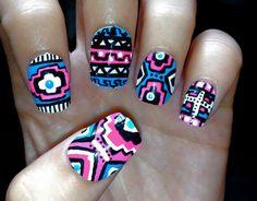 10 Simple Nail Designs for Short Nails    See more nail designs at http://www.nailsss.com/acrylic-nails-ideas/2/