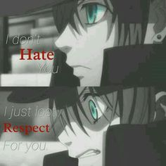 Hot Anime - HuntingAnime have the greatest selection of anime merchandise to offer with the most popular anime brands.Selected by fans for fans, find what's new today.This is a site you don't want to miss. Black Butler Anime, Black Butler Quotes, Sad Anime Quotes, Manga Quotes, True Quotes, Cartoon Quotes, Ciel Phantomhive Quotes, Anime Tumblr, Black Buttler