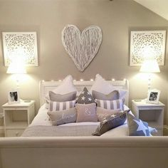 the walls, i like the color of it and how it goes with the headboard :)