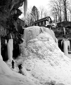 "SERENDIPITY: ""The occurrence and development of events by chance in a happy or beneficial way. And it happened to me at Decew Falls in St. St Catharines, Snow And Ice, Serendipity, Abandoned Places, Ontario, Frozen, Hiking, Canada, Explore"