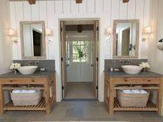 landelijke badkamers -