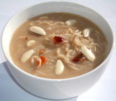 Coconut Milk Vermicelli Kheer - Vermicelli cu Lapte de Cocos Coconut Milk, Soup, Indian, Ethnic Recipes, Soups, Indian People, Chowder, India