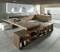 Stunning Minimalist Kitchen Design Trends Related posts:Fast growing plantsColorful environment, simple and natural decor . Leyla lady's house new design. Industrial Chic Decor, Industrial Style Kitchen, Industrial Interior Design, Best Kitchen Designs, Modern Kitchen Design, Kitchen Ideas, Kitchen Decor, Kitchen Tables, Kitchen Trends