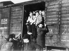 """The 15,000 ma'apilim of the two twin ships Atzmaut and Komemiut (original names Pan Crescent and Pan York, aka """"The Pans"""") were brought by trains in three days from Rumania to the Bulgarian border. A Bulgarian train carried them from the border to the port of departure at Burgas."""
