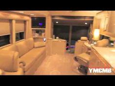 Custom Made Tour Bus   Video