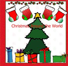 Christmas Around the World - This presentation discusses Christmas in the U.S., Mexico, France, Russia, Italy and Switzerland. With each country the children created a craft to match and that is listed within the slide show. The crafts aren't attached.  Resource type: SMART Notebook lesson  Subject: Social Studies,  History,  Cross-curricular,  Geography,  English Language Arts  Grade: Kindergarten,  Grade 1,  Grade 2
