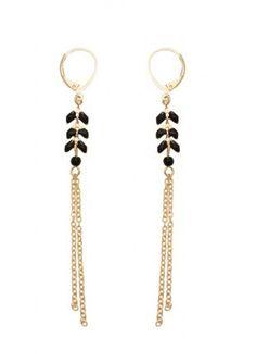 Great Virginie Monroe - Women's Jewelry and Accessories-Women Fashion Big Earrings, Simple Earrings, Simple Jewelry, Modern Jewelry, Leather Jewelry, Beaded Jewelry, Jewelry Bracelets, Handmade Jewelry, Gold Jewelry