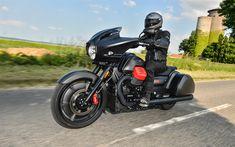 Download wallpapers Moto Guzzi MGX21, 2017, 4k, black motorcycle, cool bike, new motorcycles, Moto Guzzi