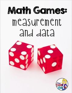 Games are motivating! Read about lots of free math games your kids can do to practice skills in measurement data, fractions, and place value. Lots of fun!