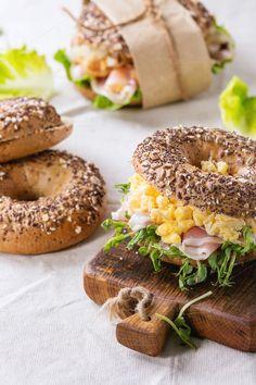 Whole Grain bagel by Natasha Breen on @creativemarket