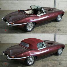 Jaguar E-type - Auto 2019 Jaguar Xj, Jaguar Sport, Jaguar E Type, Jaguar Cars, Jaguar Xk120, Best Classic Cars, Classic Sports Cars, Retro Cars, Vintage Cars
