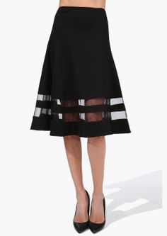 24 Ways To Make Black Work For Spring Necessary Clothing See Clearly Skirt, available at Necessary Clothing. Passion For Fashion, Love Fashion, Womens Fashion, Pretty Outfits, Cute Outfits, Black Outfits, Swagg, Everyday Fashion, Style Me