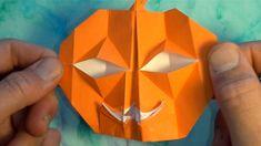 Origami Paper Folding, Origami And Kirigami, Origami Art, Oragami, Origami Ideas, Halloween Jack, Halloween Crafts, Origami Pumpkin, Origami Toys