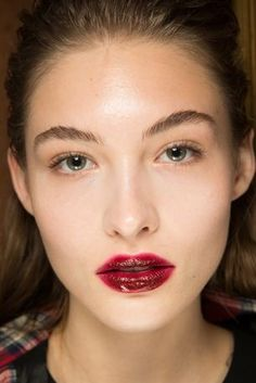 Blurred lines: one Vogue editor attempts to pull off the two-toned lip