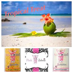 Pink Zebra Recipes- Tropical Treat Featuring: Tropical Mango and Island Coconut
